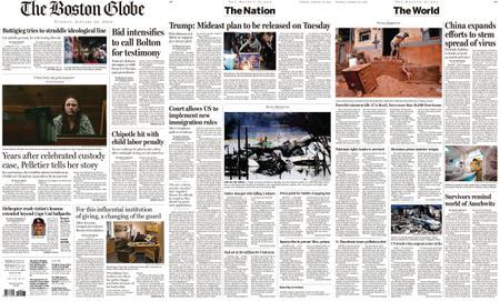 The Boston Globe – January 28, 2020