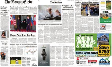 The Boston Globe – June 17, 2021