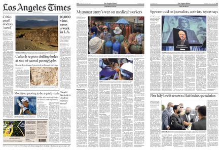 Los Angeles Times – July 19, 2021