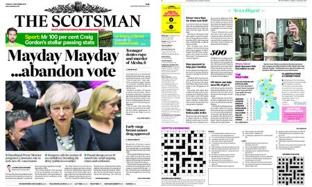 The Scotsman – December 11, 2018