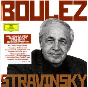 Pierre Boulez conducts Igor Stravinsky (2010) 6CD Box Set [Re-Up]