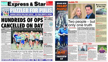 Express and Star Sandwell Edition – September 11, 2017