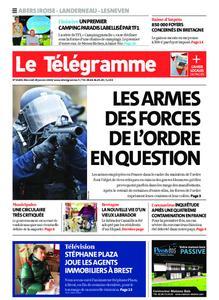 Le Télégramme Brest Abers Iroise – 29 janvier 2020