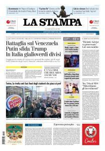 La Stampa Torino Provincia e Canavese - 25 Gennaio 2019