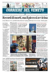Corriere del Veneto Venezia e Mestre – 18 novembre 2020