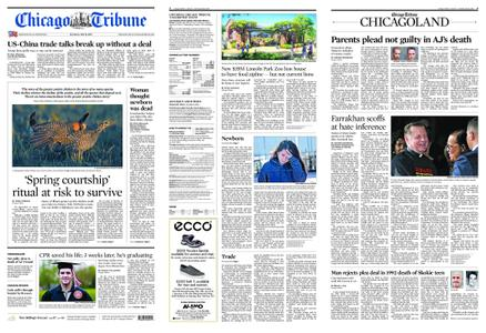 Chicago Tribune – May 11, 2019