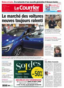 Le Courrier de l'Ouest Cholet – 23 janvier 2021