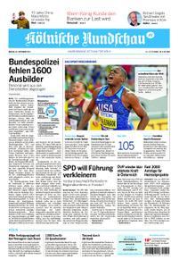 Kölnische Rundschau Wipperfürth/Lindlar – 30. September 2019
