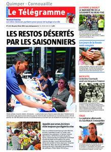 Le Télégramme Ouest Cornouaille – 30 juin 2019
