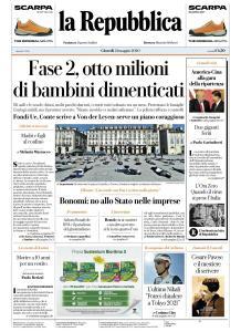 La Repubblica - 21 Maggio 2020