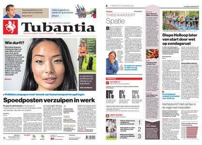 Tubantia - Enschede – 13 september 2017