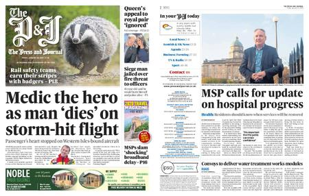 The Press and Journal Moray – January 10, 2020