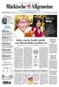 Neue Oranienburger Zeitung - 19. Februar 2018