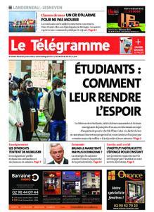 Le Télégramme Landerneau - Lesneven – 26 janvier 2021