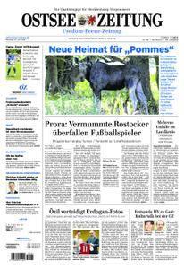 Ostsee Zeitung Wolgast - 23. Juli 2018