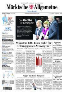 Märkische Allgemeine Dosse Kurier - 13. März 2018