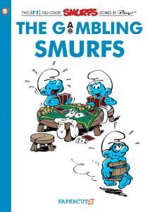 Papercutz-Smurfs Vol 25 The Gambling Smurfs 2020 Hybrid Comic eBook