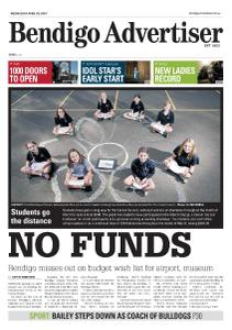 Bendigo Advertiser - April 3, 2019