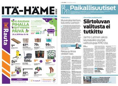 Itä-Häme – 24.04.2019
