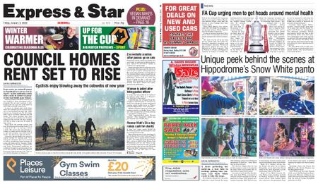 Express and Star Sandwell Edition – January 03, 2020