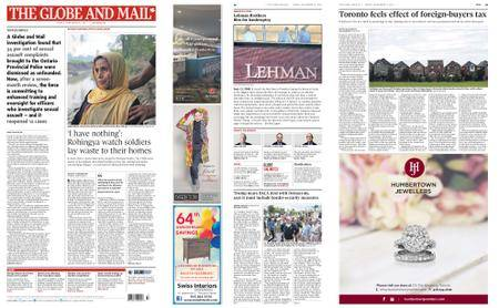 The Globe and Mail – September 15, 2017