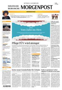 Solinger Morgenpost – 02. Oktober 2019