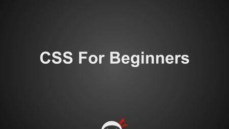Ninja CSS For Beginners
