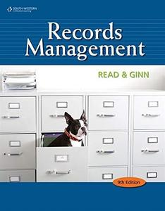 Records Management, 9th Edition (Repost)