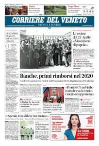 Corriere del Veneto Padova e Rovigo – 25 aprile 2019