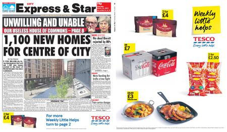 Express and Star City Edition – March 14, 2019