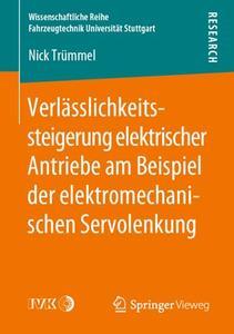 Verlässlichkeitssteigerung elektrischer Antriebe am Beispiel der elektromechanischen Servolenkung