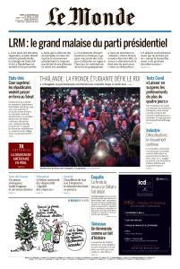 Le Monde du Mardi 22 Septembre 2020