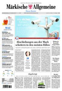 Märkische Allgemeine Dosse Kurier - 03. November 2018