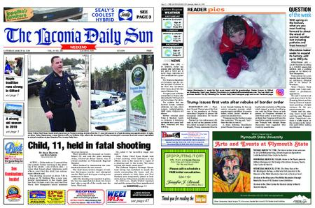 The Laconia Daily Sun – March 16, 2019