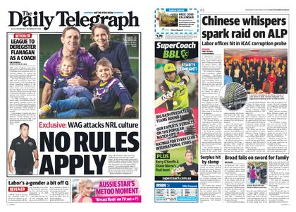 The Daily Telegraph (Sydney) – December 19, 2018