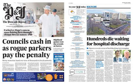 The Press and Journal Moray – July 08, 2019