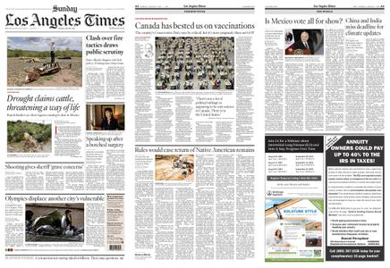 Los Angeles Times – August 01, 2021