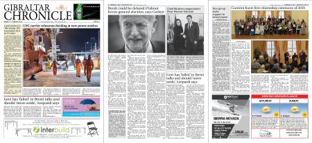 Gibraltar Chronicle – 11 January 2019