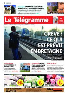 Le Télégramme Brest Abers Iroise – 05 décembre 2019