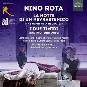 Reate Festival Orchestra - Rota: La notte di un nevrastenico & I due timidi (Live) (2019)