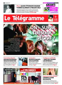 Le Télégramme Brest – 02 mars 2020