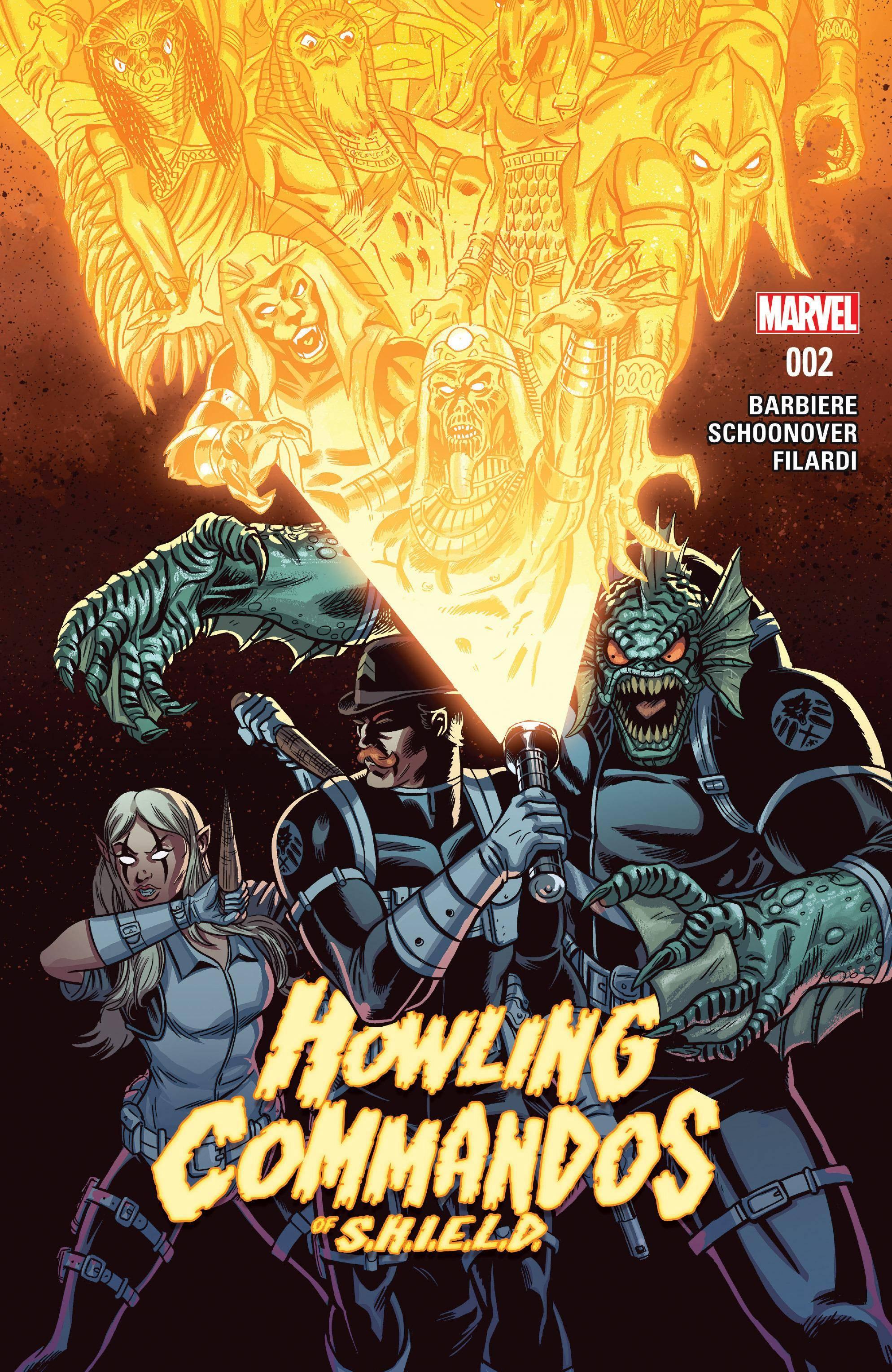 Howling Commandos Of S H I E L D 002 2016 Digital