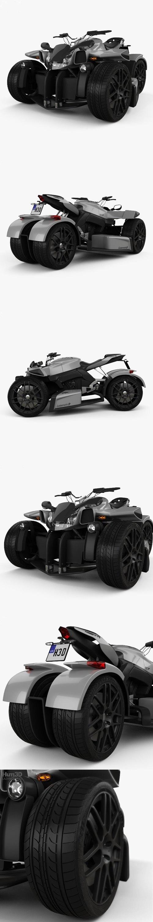 Lazareth Wazuma R1 2017 3D model