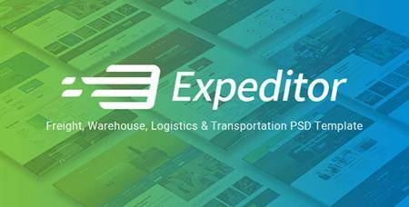 ThemeForest - Expeditor v1.0 - Logistics & Transportation PSD Template - 20552167