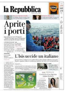 la Repubblica - 19 Marzo 2019