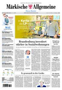Märkische Allgemeine Dosse Kurier - 16. Oktober 2018