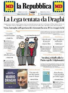 la Repubblica - 6 Febbraio 2021