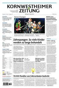 Kornwestheimer Zeitung - 27. Februar 2018