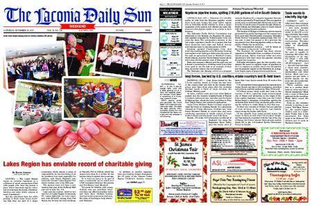 The Laconia Daily Sun – November 18, 2017
