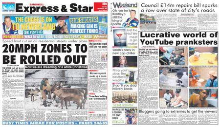 Express and Star Sandwell Edition – December 09, 2017
